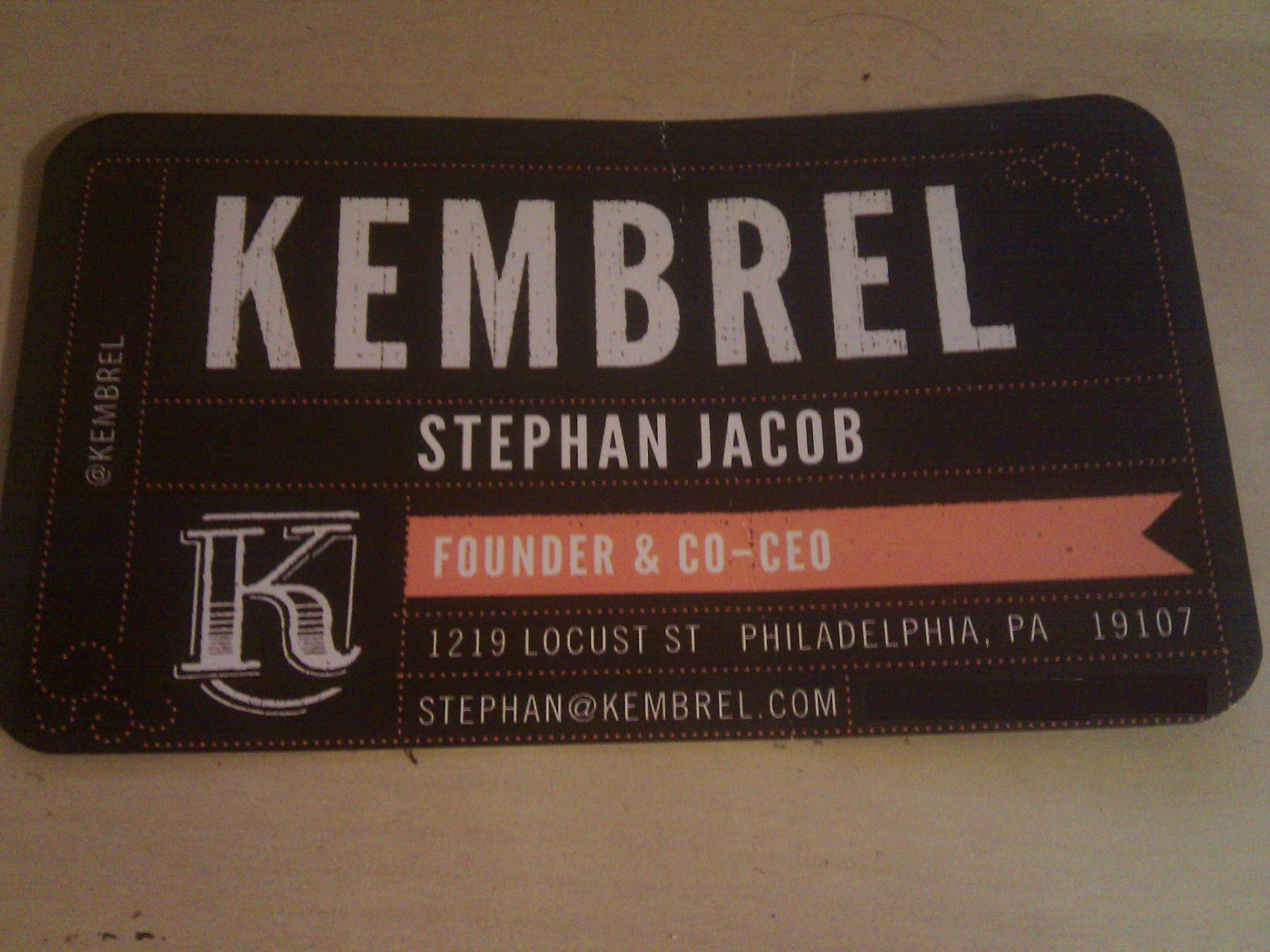Cool Story, Bro: Stephan from Kembrel